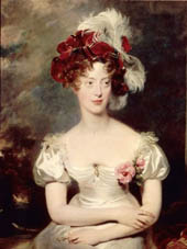 Portrait de la Duchesse de Berry