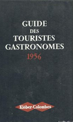 Couverture du guide des touristes gastronomes