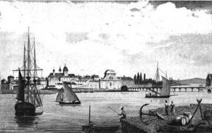 Vue du Pont Saint Esprit