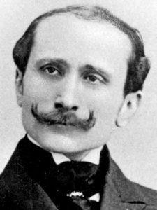 Portrait d'Edmond Rostand