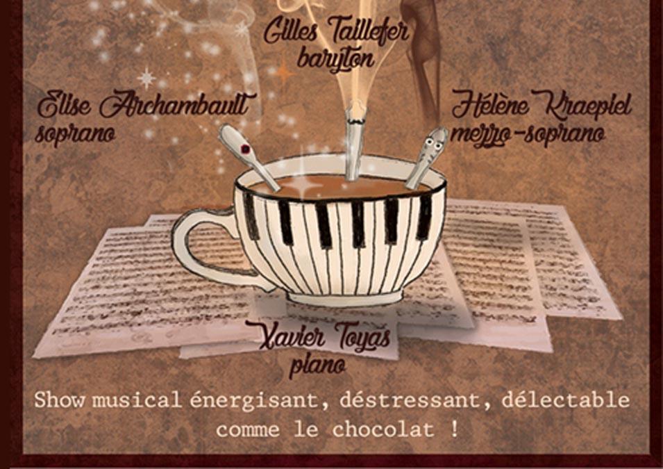 Affiche du spectacle Chocolat Show avec Élise Archambault