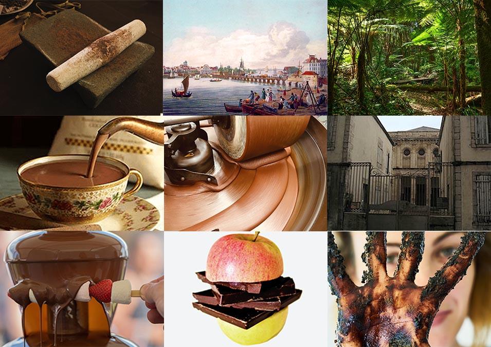 Le Parcours Bayonne fête son chocolat : métate, histoire de Bayonne, serre tropicale, chocolat à l'ancienne....