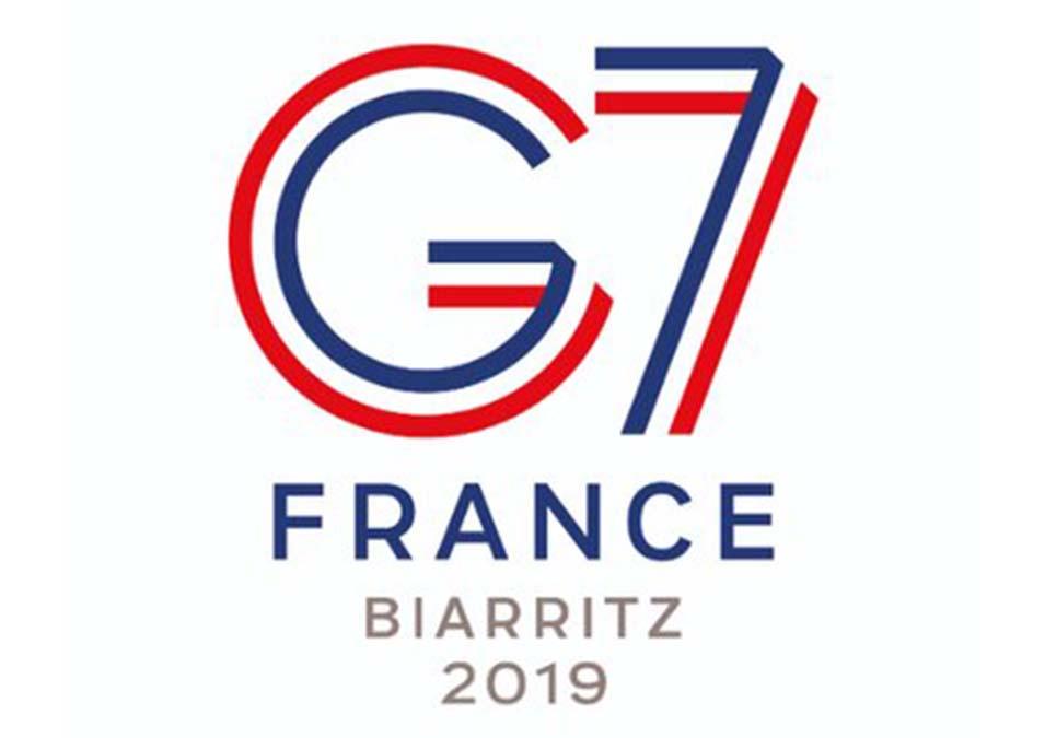 Logo du G7 à Biarritz