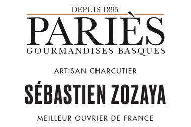 Logos Maison Pariès et Sebastien Zozaya