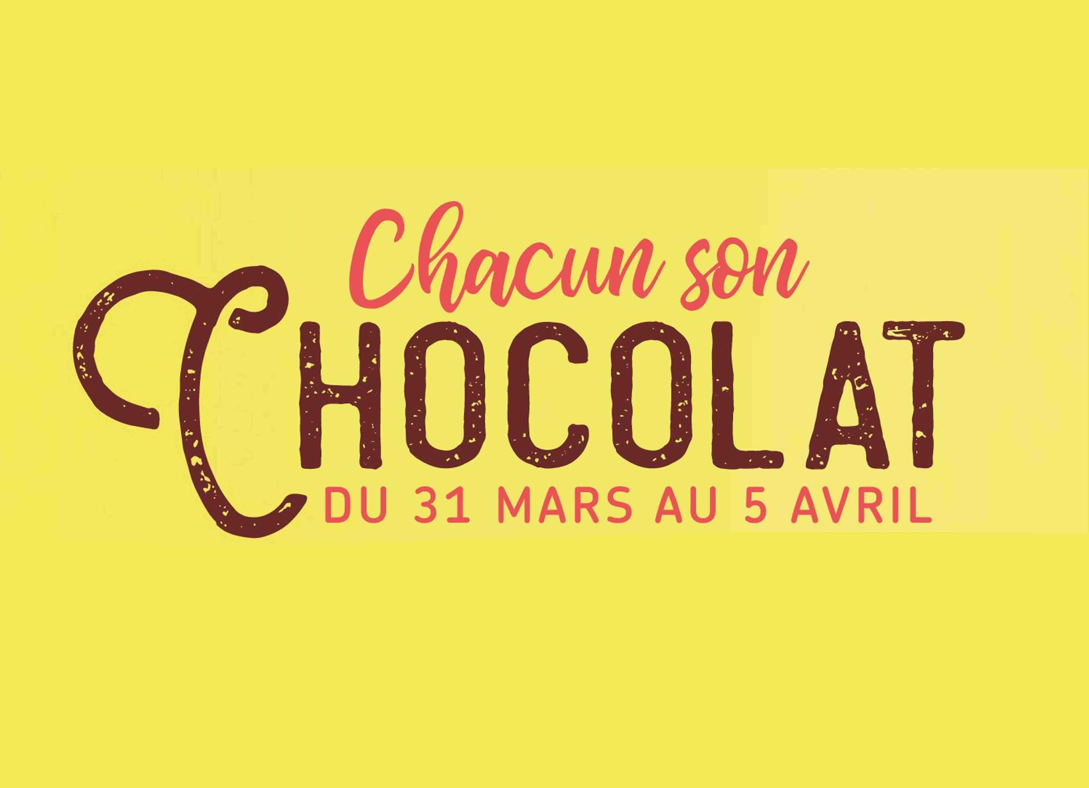 Affiche Chacun son Chocolat de Bayonne Shopping