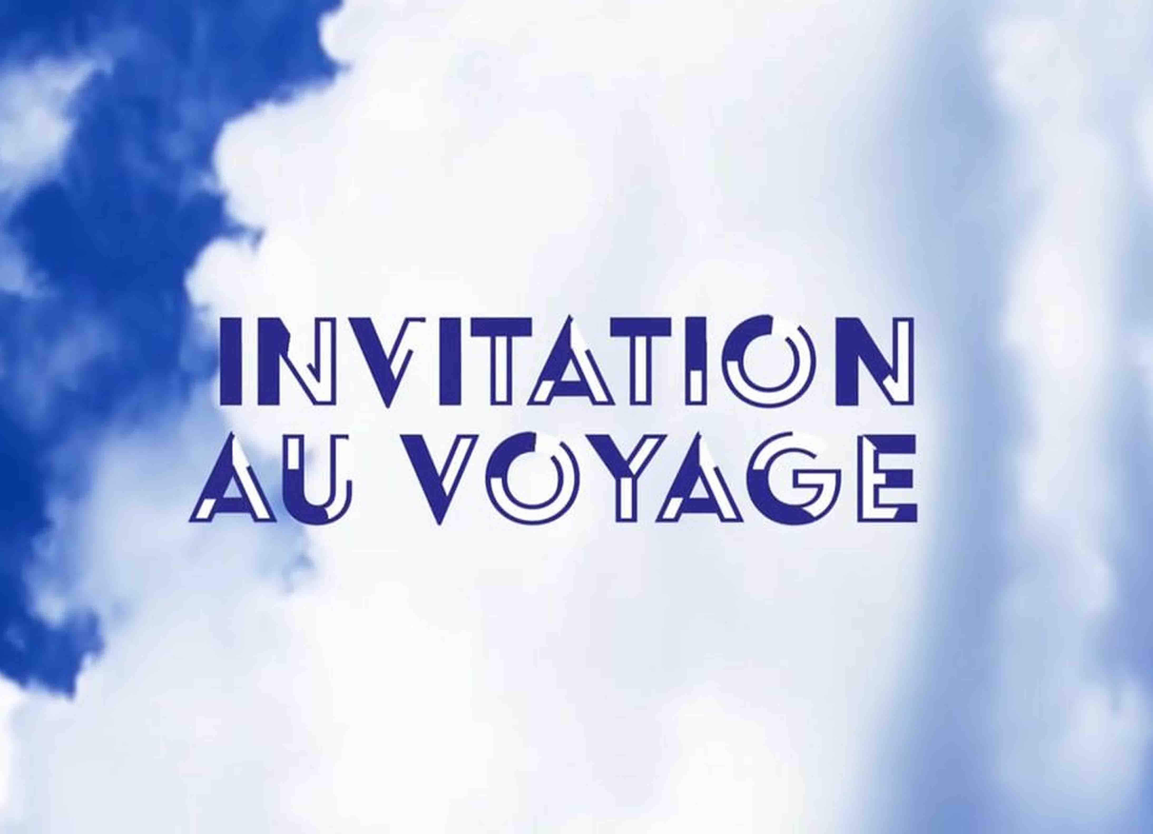 Logo de l'émission Invitation au Voyage d'Arte